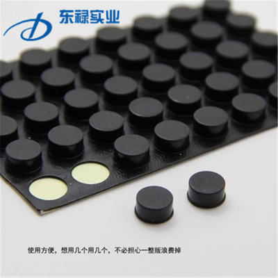 厂家定制3M防滑橡胶垫片橡胶脚垫  桌椅护垫 耐磨抗压尺寸定制