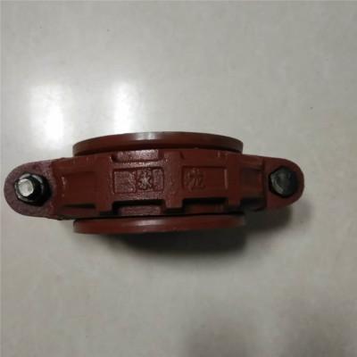 厂家直销矿用快速接头 柔性肩式喇叭口矿用卡箍批发量大从优