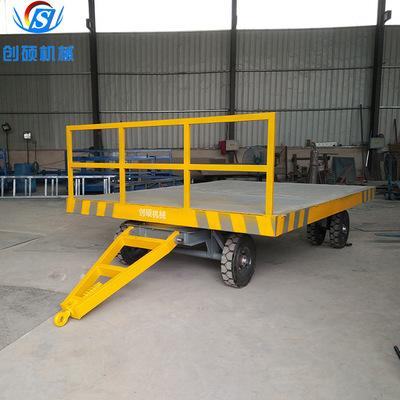 按需定制厂区转运车 物流台车 物流运输工具车 牵引平板车拖车