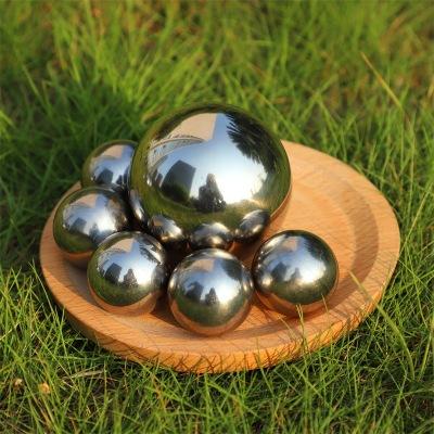 厂家直销镜面不锈钢空心球 浮球 304 金属空心球  空心半球加工