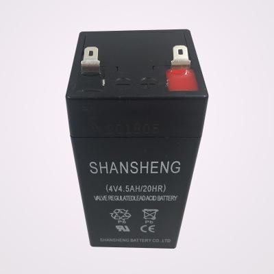 4V4AH蓄电池电子秤电池 称 4V5安 4.5足容量厂家直销欢迎批发采购
