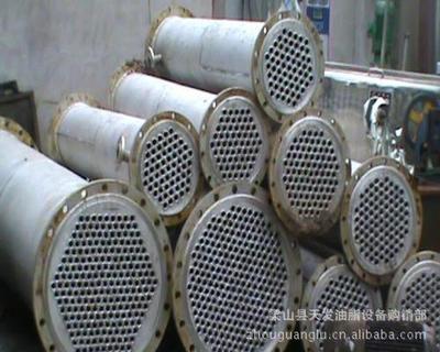 转让10-100平方不锈钢泠凝器/板式换热器/管束干燥机/颗粒机