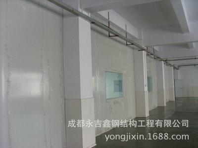 供应成都办公室彩钢隔断墙 钢结构用彩钢隔墙 防火岩棉板彩钢隔墙