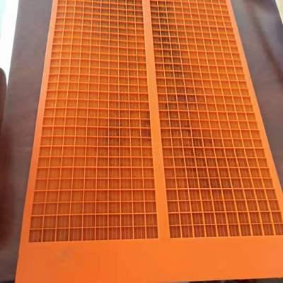 厂家供应各种规格聚氨酯弛张筛 加工定制筛板筛网