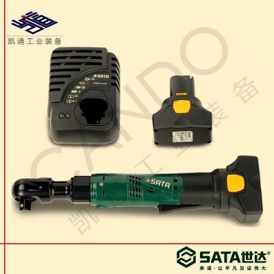 SATA世达锂电棘轮扳手51080充电式电动扳手51081直柄电扳手51082