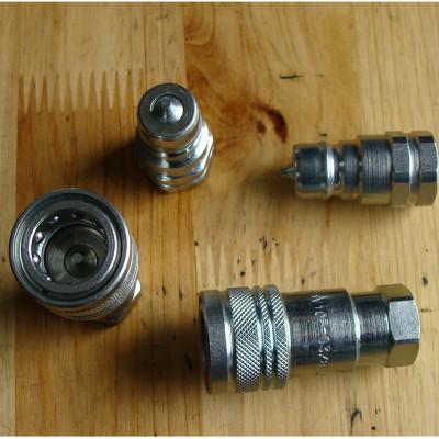 液压快速接头PAVG3/8碳钢液压接头机械部件汽配DNP液压系统接头