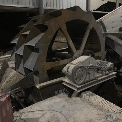 节能矿石制沙洗砂生产线 3600大型洗选机 轮斗槽式洗砂机适用性高