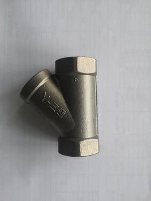 Y型三通不锈钢304丝扣内螺纹三通DN15  4分  6分 3分