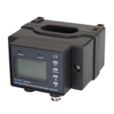 ETCR铱泰 ETCR2800KC 开合式接地电阻在线检测仪 带液晶显示