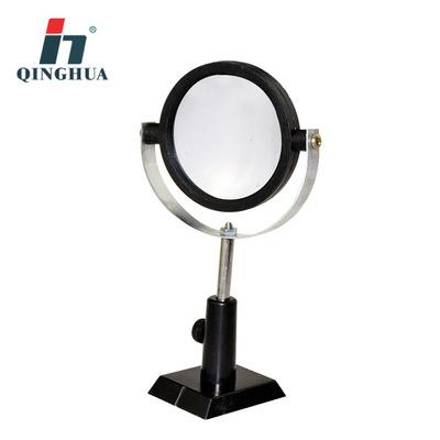青华25002凹面镜带支架10CM直径初高中物理光学实验器材科教仪器