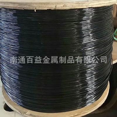 6MM包塑钢丝绳 镀锌包塑包胶钢丝绳 规格全批发生产