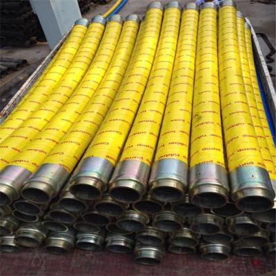 直销混凝土泵车布料机桩机胶管 软管两层四层钢丝2/3/4米 89