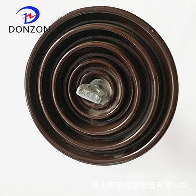 大量批发 盘型悬式绝缘子 高压线路盘型悬式陶瓷绝缘子 规格多样