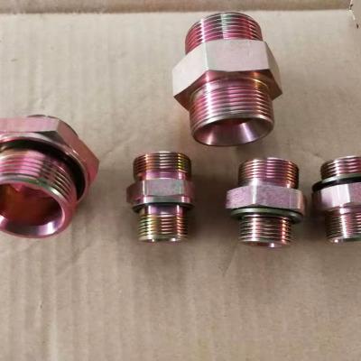 厂家直销 各规格高压油管接头 胶管接头 液压接头 量大从优