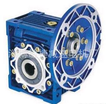 NMRV090减速机 RV减速机厂家NRV075涡轮蜗杆减速器铝壳减速机现货