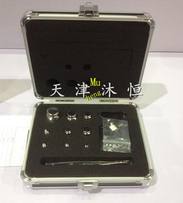 磁化率≤0.01gE2级200g-1g无磁不锈钢砝码 精密天平校准盒装砝码