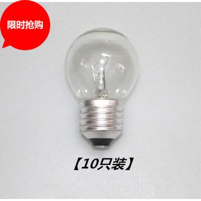 灯泡E27/E14螺口钨丝白炽灯尖泡25W/40W黄光球形白炽灯可调光暖黄