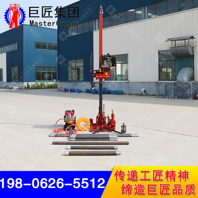 柴油动力QZ-3转盘式岩芯钻机轻便地质勘探钻机质量保证取芯进尺快