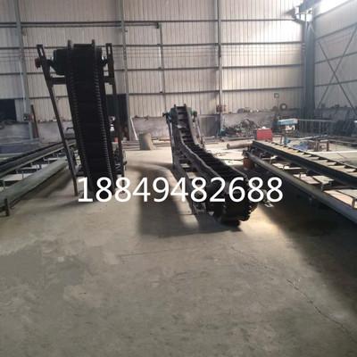 生产矿山大倾角输送机 大倾角挡边输送带 矿用波状挡边带式输送机
