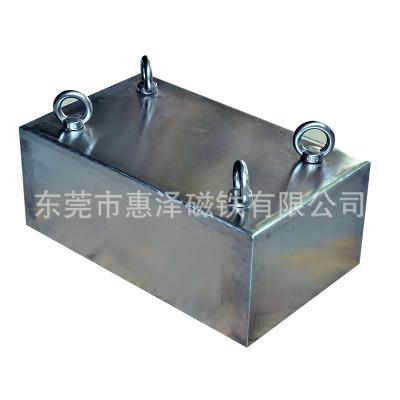厂家直销输送带强磁除铁器直销悬挂式永磁除铁器强磁选矿除铁设备