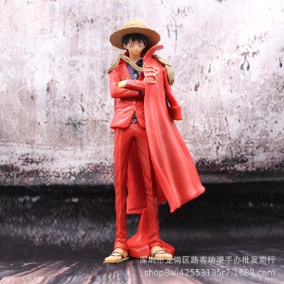 海贼航海王 20周年 KOA 披风 红衣路飞 草帽小子 手办 模型 摆件