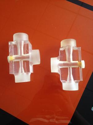 二氧化氯发生器水射器射流器有机玻璃水射器SSQ文丘里透明水射器