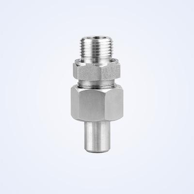 畅鑫流体 304不锈钢液压接头 JB-T6381焊接式直通管液压接头