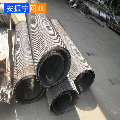 振动筛用聚氨酯棒条筛板不锈钢筛板 梯形丝筛板 条缝污水过滤网板