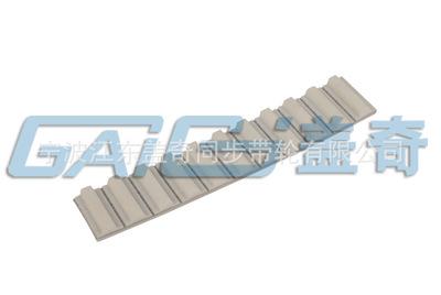 大量 现货 价优 钢丝绳+PU开口同步带T10齿形齿形传送带