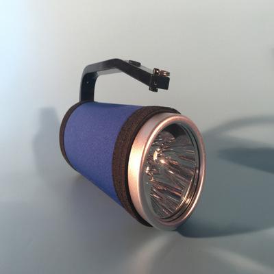 RJW7102/LT手提式防爆探照灯 强光搜索工作灯 短款150mm