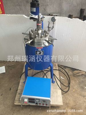 实验室气液混合不锈钢高压釜 0.05L不锈钢高压釜 CJF高压反应釜
