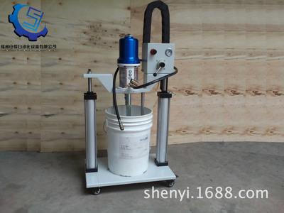 浮选机润滑系统 双立柱黄油泵福州黄油机 气动加油机 高粘度油脂