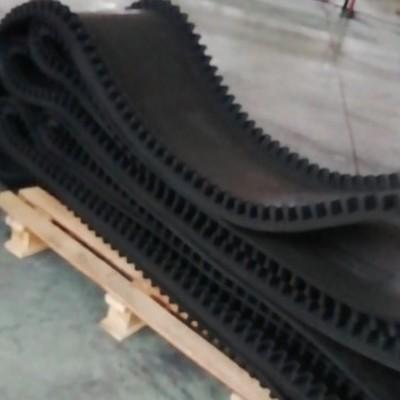 大倾角输送带 大倾角波状挡边输送带 大角度输送带