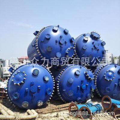 专营二手高压反应釜 反应器 精馏塔 搪瓷反应釜 吸收塔