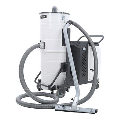 4KW工业移动式吸尘器 上下分体双桶旋风除尘器金属铜粉回收集尘机