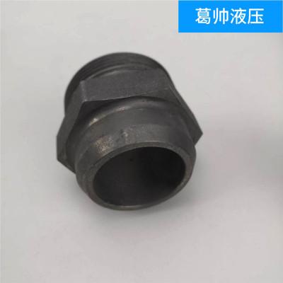 伊顿焊接接头 焊接式端直通管接头 高压钢管焊接头 1CW1DW