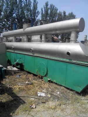 二手不锈钢振动流化床干燥机与工业  长度6-24米振动流化床干燥机