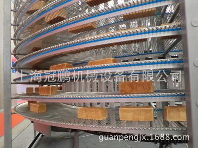 面包输送线冷却输送线不锈钢网带螺旋提升机螺旋输送机