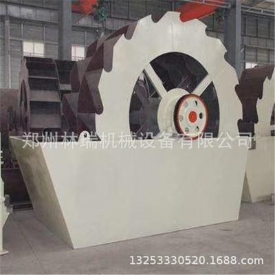 林瑞机械批发矿山设备 槽式轮式洗砂机 制砂筛沙洗砂机设