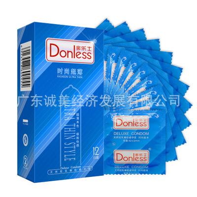 包邮厂家现货批发多乐士时尚超薄装12片夫妻用品男用非女用避孕套