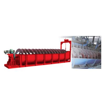 高效尾矿回收分级机 高堰式洗矿螺旋分级机 沉没式螺旋选矿设备