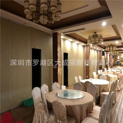 大成广州可旋转博览馆现代折叠门吊趟推拉门隔音防火隔墙