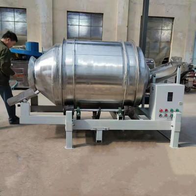 供应食品不锈钢滚筒搅拌机 小型凉菜拌料机 定制燕麦片水果混合机