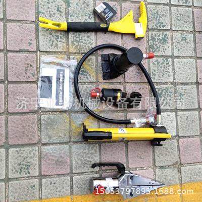 消防器材便携式防盗门 消防液压破拆工具五件套 抢险救援器材
