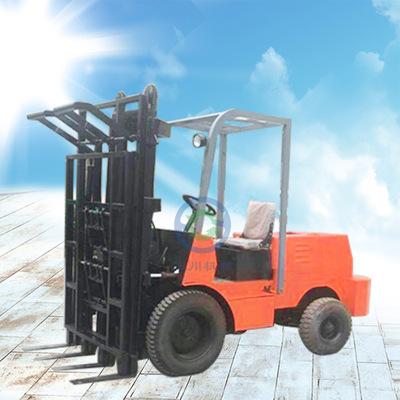 厂家直销 柴油堆高叉车 1.5吨小型叉车 水泥装卸专用双排叉车
