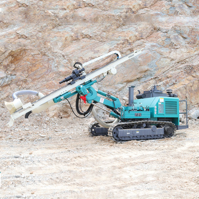 潜孔钻机168型气动履带式小型潜孔钻机分体式钻机凿岩钻机