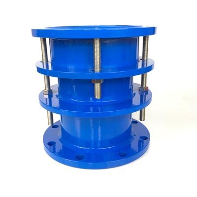 厂家大量现货供应优质双法兰限位伸缩接头 结构耐用管路伸缩器