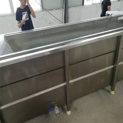 厂家直销水浴式冻肉快速解冻机 进口牛羊肉解冻设备 带提升解冻机