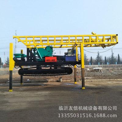 SPJ-300磨盘钻机  生产厂家直销可定制单.双卷扬水井钻机