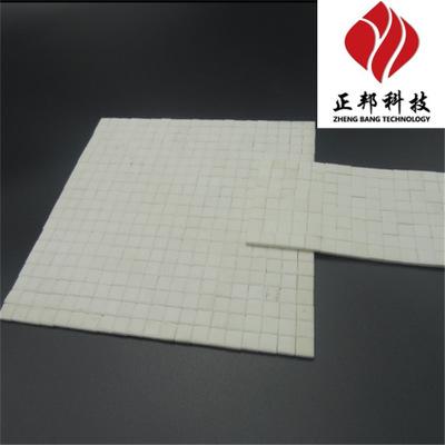 高硬度耐冲击氧化铝耐磨陶瓷片 耐磨磁性衬板
